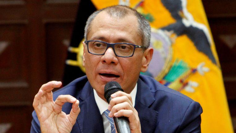 De Ecuadoriaanse vicepresident Jorge Glas.