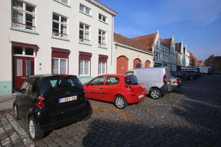 Aan het Astridpark zijn de parkeerplaatsen altijd volzet.