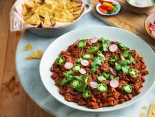 Wat Eten We Vandaag: Snelle chili & nacho's