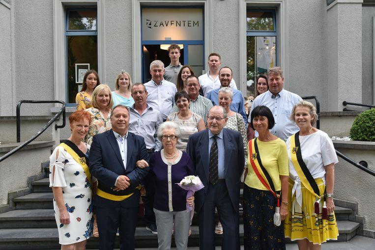 Diamanten bruiloft van Jean Charles en Marie José Vandenput.