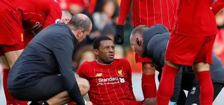 Wijnaldum haakt af bij worstelend Liverpool met spierblessure