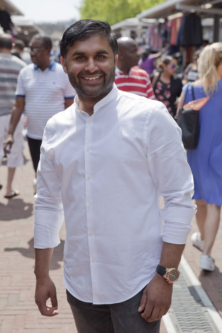 Mohammed Zulqar Khan Beeld Rob Huibers
