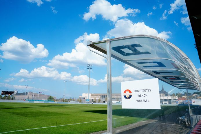 Het stadionnetje waar Willem II Europees speelt.