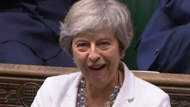 """Theresa May: """"Ik heb een sterk gevoel van déjà vu"""""""