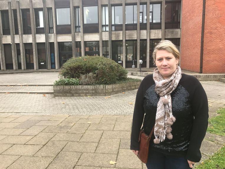 Petra Bogaert kwam persoonlijk afgezakt naar de rechtbank.