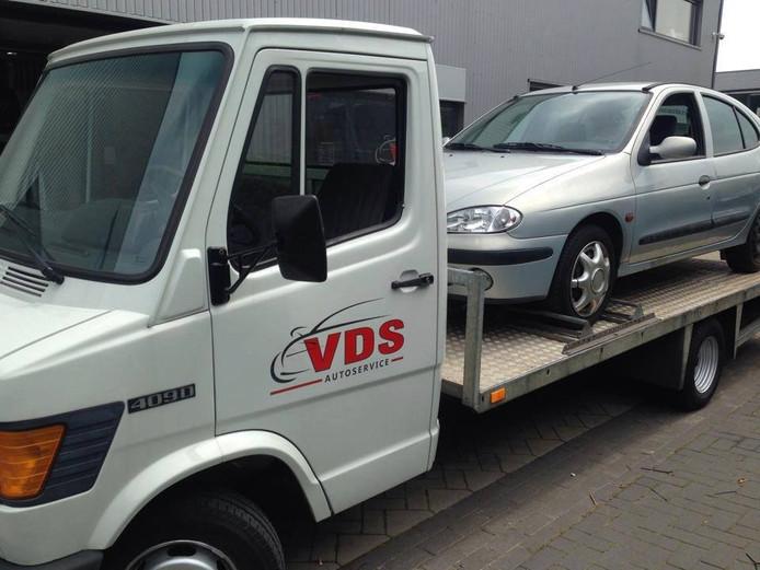 Een autoambulance van VDS.