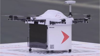 Afgelegen Canadees eiland wordt voortaan bevoorraad met drones