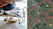 De Ronde tegen Corona: check live op kaart waar onze helikopter nu vliegt