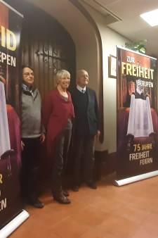 Kerkestafette Bocholt en Aalten voor bevrijding aan beide zijden van de grens