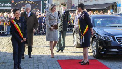 2.200 mensen verwelkomen vorstenpaar aan Lakenhal in Herentals