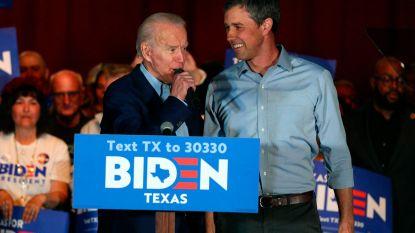 Oud-rivalen O'Rourke, Buttigieg en Klobuchar scharen zich achter Joe Biden