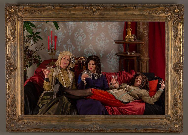 In het MSK kan je zondag poseren als een 'dame van de Barok'.