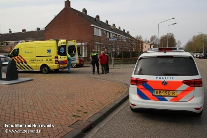 De fietser raakte gewond bij een valpartij op de Paauwenburglaan