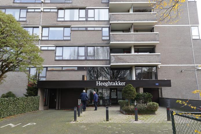 Appartementcomplex aan de Heeghtakker