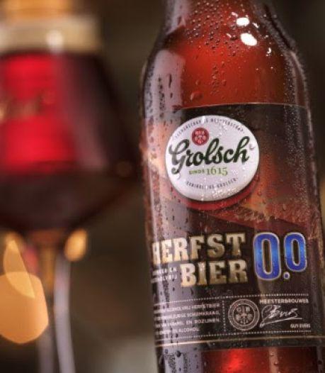 Grolsch komt met Herfstbier 0.0% als alternatief voor bokbier