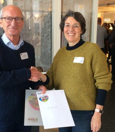 Cheque van 1.000 euro voor pop-upplein in Doorwerth