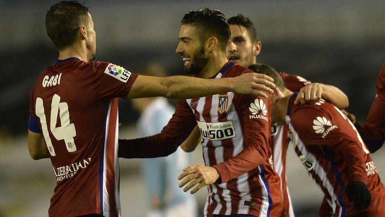 Carrasco legde de eindstand vast tegen Celta: 0-2