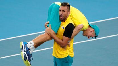 Australië wacht België of Spanje op na zinderende dubbelmatch in halve finales ATP Cup, ook Rusland door