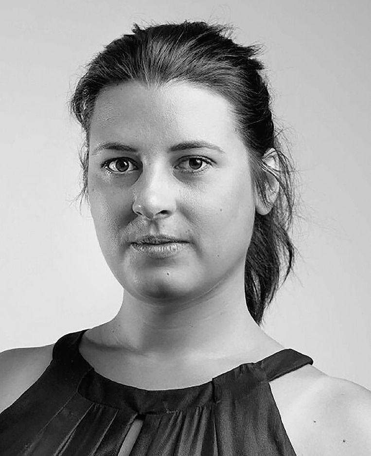 Boraya van der Burgt is docent levensbeschouwing. Beeld -