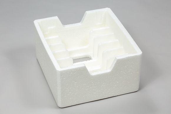 Het schuimverpakkingsmateriaal is recycleerbaar en bioafbreekbaar.