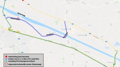Enkel plaatselijk verkeer toegestaan in Sluizenweg