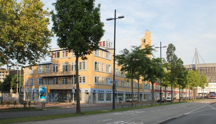 De Ventoseflat, de voormalige sigarenfabriek Van Garderen, aan de Mathildelaan in Eindhoven. Een van de eerste voorbeelden van hergebruik van industriële gebouwen in de stad.