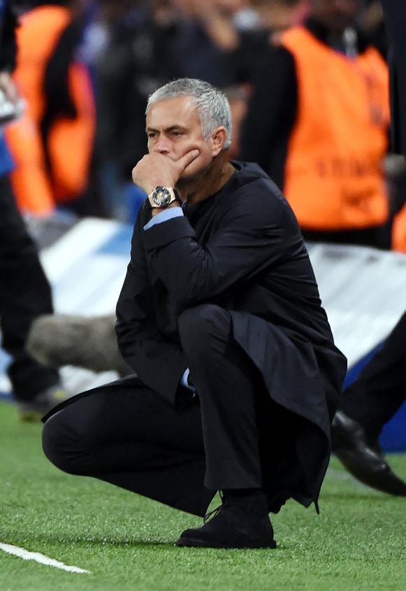 Mourinho kan opgelucht ademhalen na de 4-0 zege.