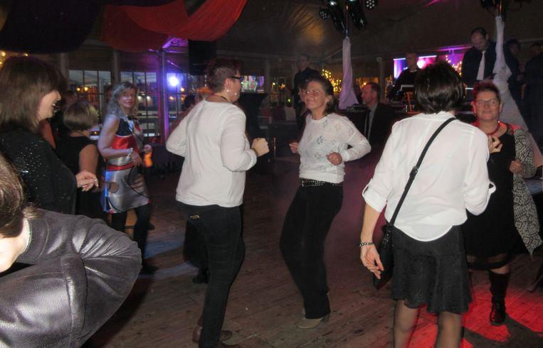 Ook in de Skibar in Tienen kon je de beentjes strekken.