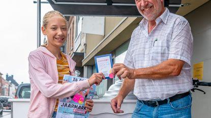 Kaat Van Daele wint kleurwedstrijd jaarmarkt Kruibeke