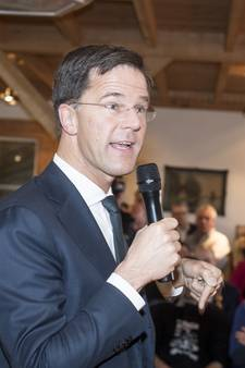 Mark Rutte over Oost-Nederland: Uhm ja, ik ga hier geen examen afleggen