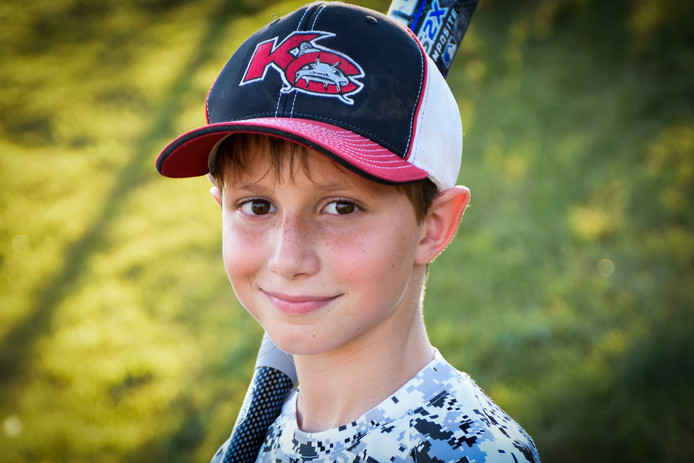 This June 2016 photo provided by David Strickland shows Caleb Thomas Schwab, the son of Scott Schwab, a Kansas state lawmaker from Olathe. Caleb died Sunday, Aug. 7, 2016, while riding the Verruckt, a water slide that's billed as the world's largest, at the Schlitterbahn Waterpark in Kansas City, Kan. (David Strickland via AP)