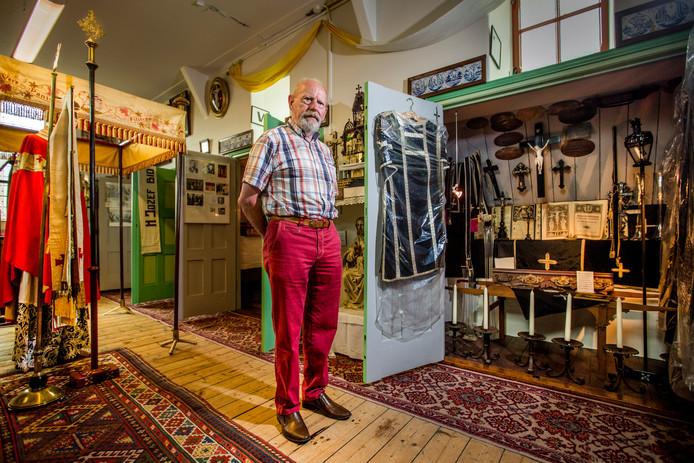 Ben Pol is opgelucht dat de collectie, die hij met ziel en zaligheid opbouwde, is veiliggesteld.