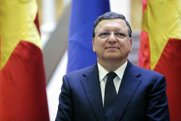 Barroso in Hanoi Beeld anp