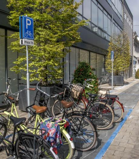 Blauwe fietsvakken blijven: 'proef geslaagd'