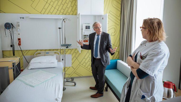Wouter van der Kam in het twee weken geleden geopende Zaans Medisch Centrum Beeld Marc Driessen