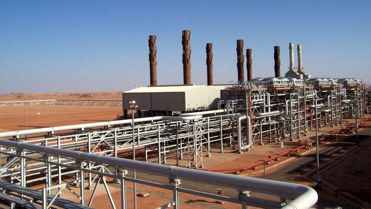 Gasinstallatie van BP in Algerije. Beeld anp