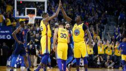 Golden State is maatje te groot voor Oklahoma in de NBA