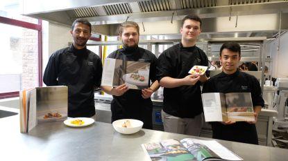 Leerlingen Stedelijk Lyceum studeren af met eigen kookboek