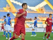 AS Roma wint ruim bij Brescia, Kluivert kijkt toe