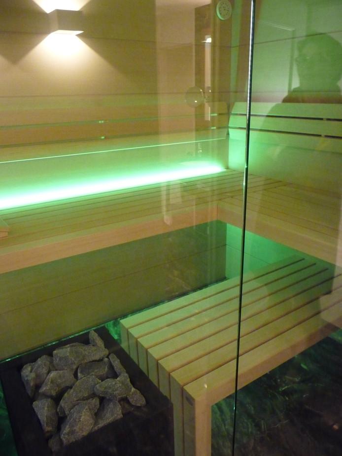 Sauna in het penthouse