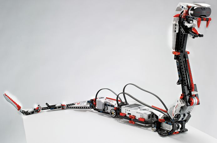 De robot Reptar van Lego Mindstorms EV3.