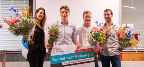 Tibbe Froma (15) uit Enschede wint Junior Startup Challenge