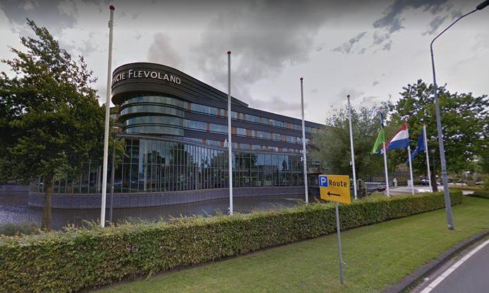 Het provinciehuis van Flevoland in Lelystad.