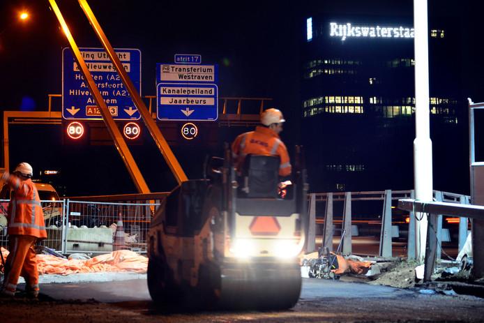 De werkzaamheden bij de Galecopperbrug zijn inmiddels afgerond