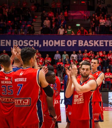 Dramatische exit New Heroes: driepunter één seconde voor tijd wordt Bossche basketballers fataal
