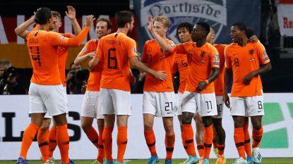 Oranje doet weer helemaal mee na spektakelstuk in Duitsland (2-4)