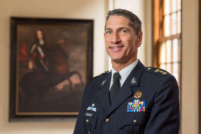 Jeff Mac Mootry wordt de nieuwe commandant van het Korps Mariniers.