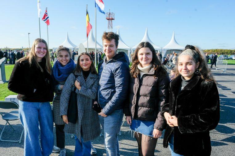 Hulde aan Noors monument vliegveld Grimbergen