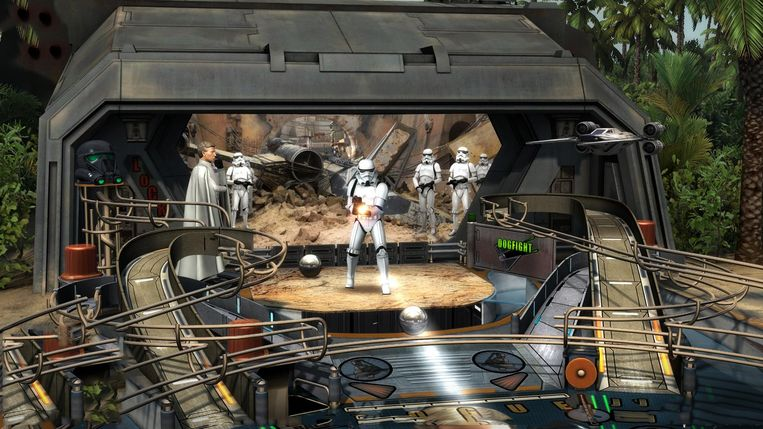 Star Wars Pinball: Rogue Flipper. Beeld Zen Studios
