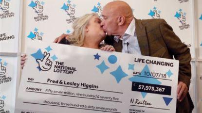 Fred en Lesley winnen 65 miljoen met EuroMillions, kassier verscheurt echter per ongeluk hun biljet